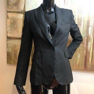 Zara Woman Black Single Button Blazer Size 2